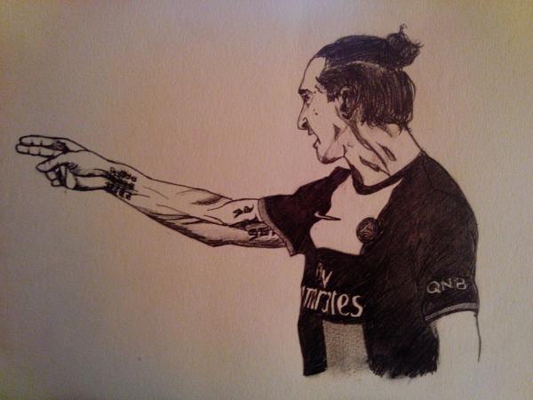 Zlatan Ibrahimovic by Sweetsauce
